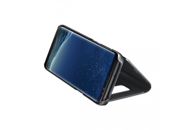 ClearView Stan Cover SAMSUNG S8 Negro