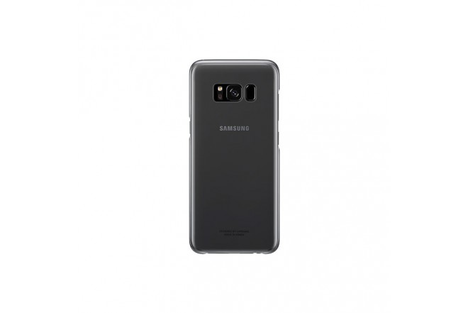 Clear Cover SAMSUNG S8 Plus Negro