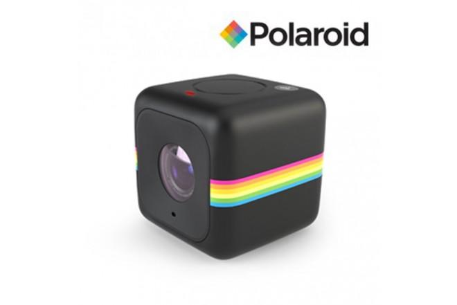 Camara de acción POLAROID Cube WIFI Negra