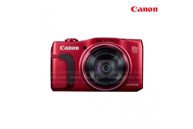 Cámara CANON Semiprofesional SX710 Roja