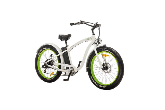 Bicicleta Electrica e-city Endevour Blanca