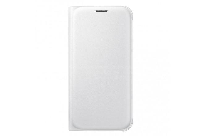 Flip Wallet Pu SAMSUNG Galaxy S6 Blanco