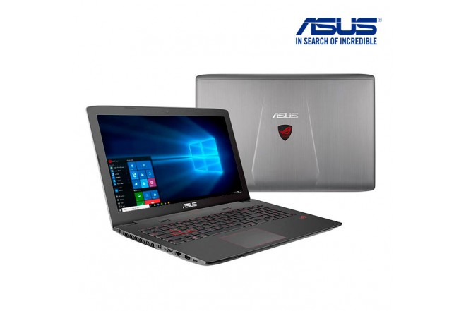 "Portátil ASUS ROGGL752VW 17"" Core i7 - Gamers"