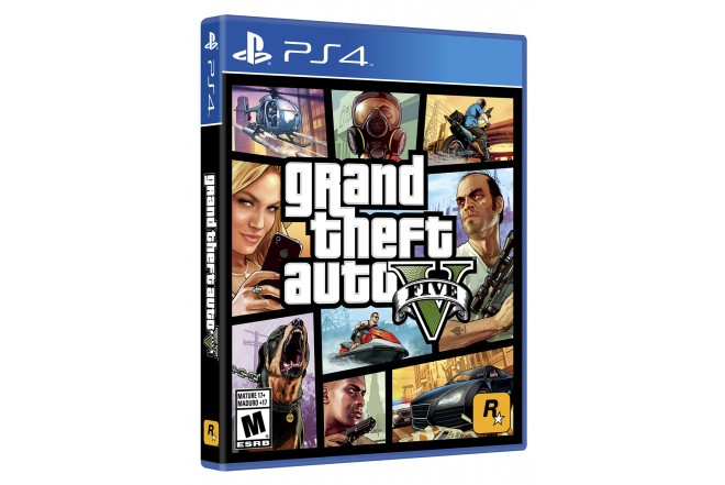 Video Juego PS4 SONY Grand Theft Auto V