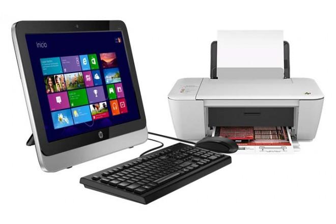 PC All in One HP 18-5010la + Multifuncional