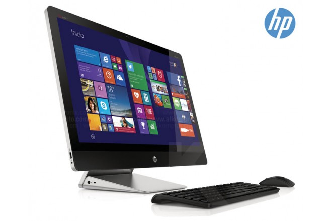 PC All in One HP 27-K115LA Touch