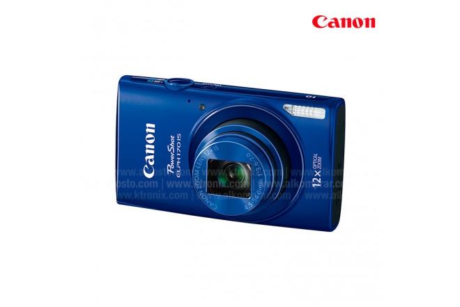 Cámara CANON ELPH 170 Azul Compacta