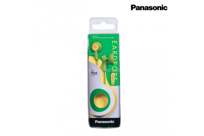Audifonos PANASONIC Alambrico InEar HV41 Verde