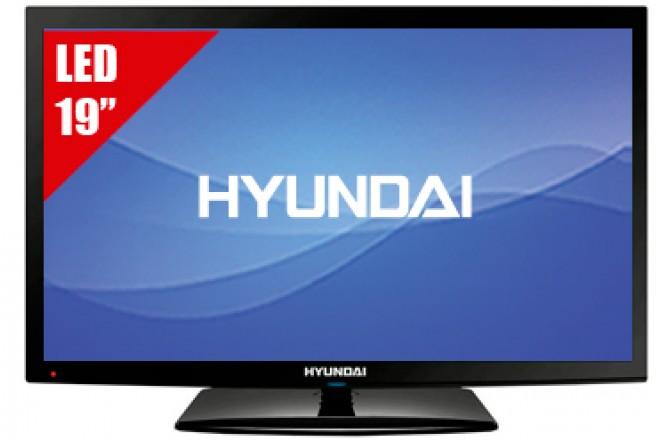 """TV 19"""" HYUNDAI HYLED193 HD"""