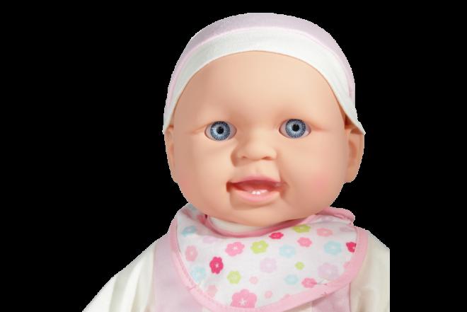 Muñeca Bebé Con Cargador (Juguetes)