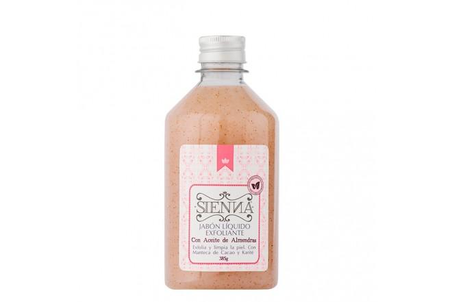 Jabón Exfoliante Almendras 375g Sienna