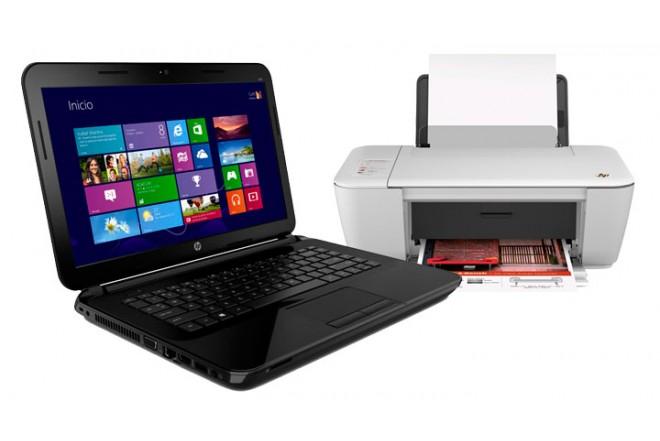 Notebook HP 14 - d021la + Multifuncional HP 1515LA