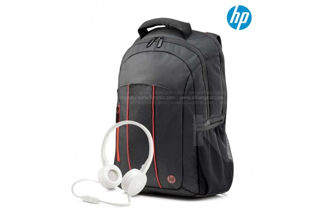 Combo HP Morral Empire + Diadema H2800 Blanco