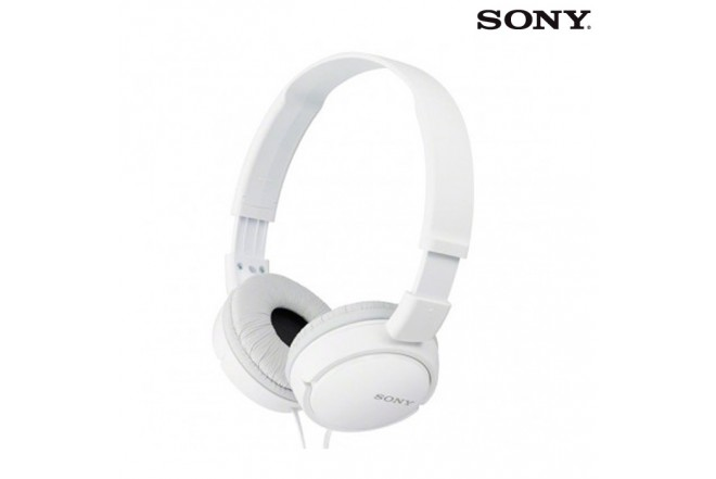 Audífonos SONY MDR-ZX110 On Ear 3.5 110 Blanco