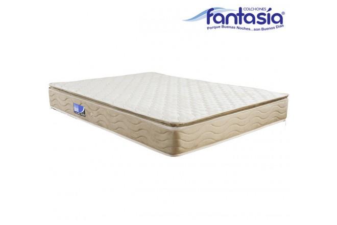 Colchón FANTASÍA Extradoble Marfil Balanced 160x190 cms