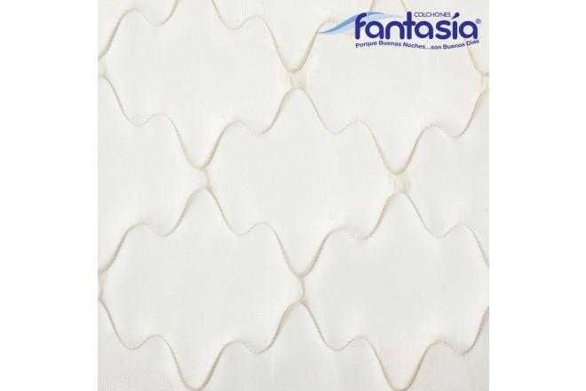 Colchón FANTASÍA Semidoble Marfil Balanced 120x190 cms