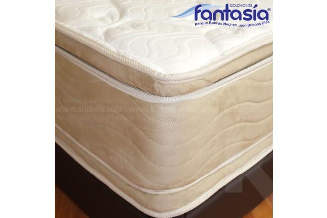 Colchón FANTASÍA Semidoble Marfil Plasencci 120x190 cms