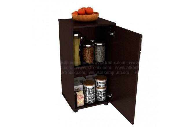 Mueble Auxiliar de  Cocina PRACTIMAC Lavanda Wengue