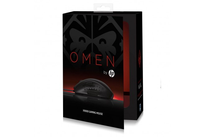 Mouse HP Gaming X9000 Negro