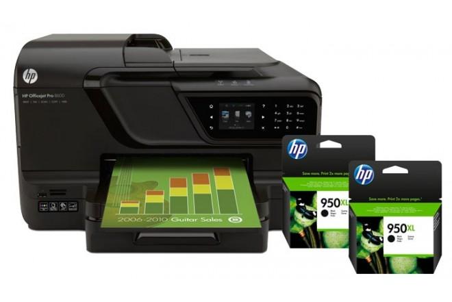 Multifuncional 8600 Plus + Tintas HP