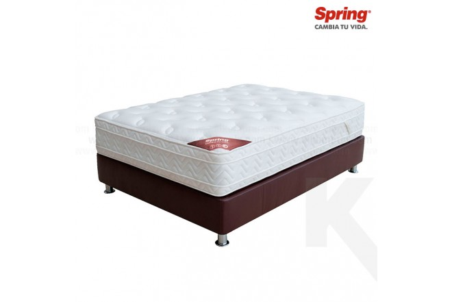 KOMBO: Colchón SPRING Passion New 7 Doble + Base cama Salim Doble