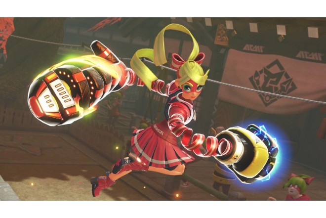 Videojuego SWITCH ARMS-3