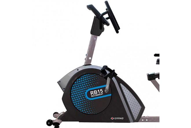Bicicleta Recumbent VITAL PLATE programable RB15-M