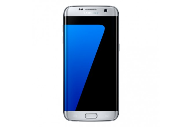 Celular Samsung S7 Edge +Cargador+SD32 Plata