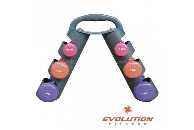 Set Mancuernas EVOLUTION De 6 kg