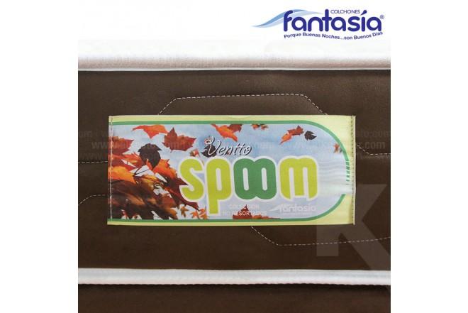 Colchón FANTASÍA Semidoble Spoom Ventto 120x190 cms