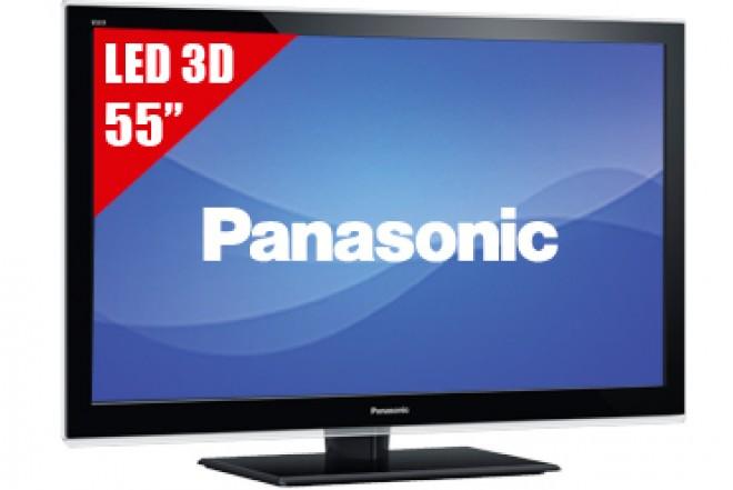"TV 55"" LED PANASONIC 55ET5W FHD 3D"