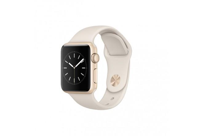 Apple Watch Sport 38M Gold/White