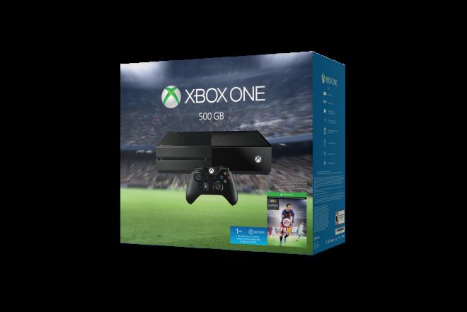 XBOX ONE 500GB + 1 Control + Videojuego FIFA 16