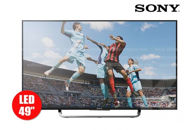 "Tv 49"" 123 cm LED SONY 49X837 4K Internet"