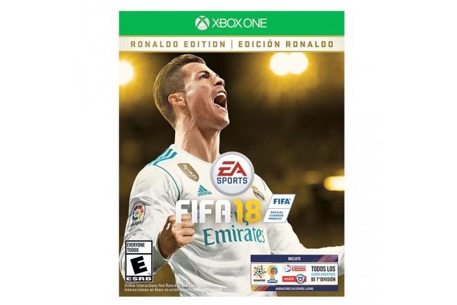 Videojuego XBOX ONE FIFA 18 Edición Ronaldo