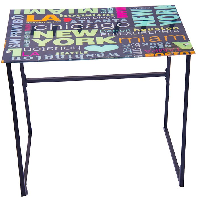 escritorio de vidrio dise o ny alkosto tienda online