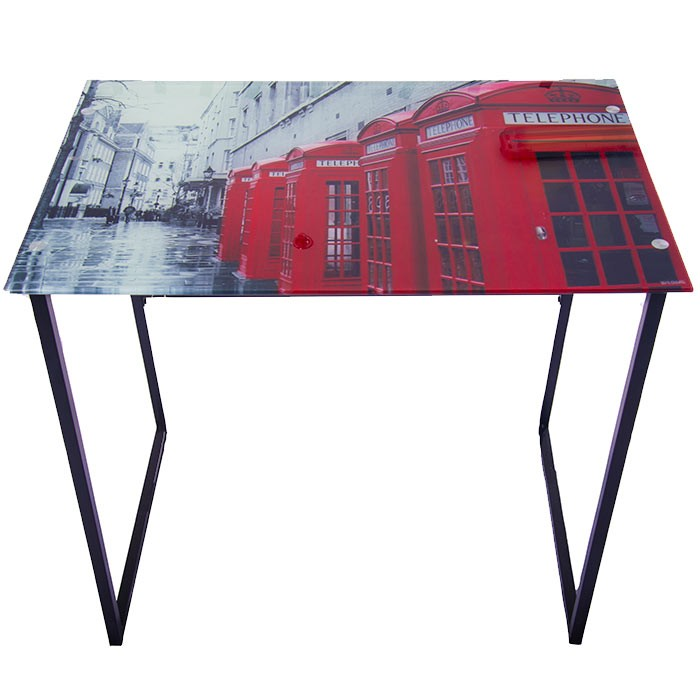 escritorio de vidrio diseo london