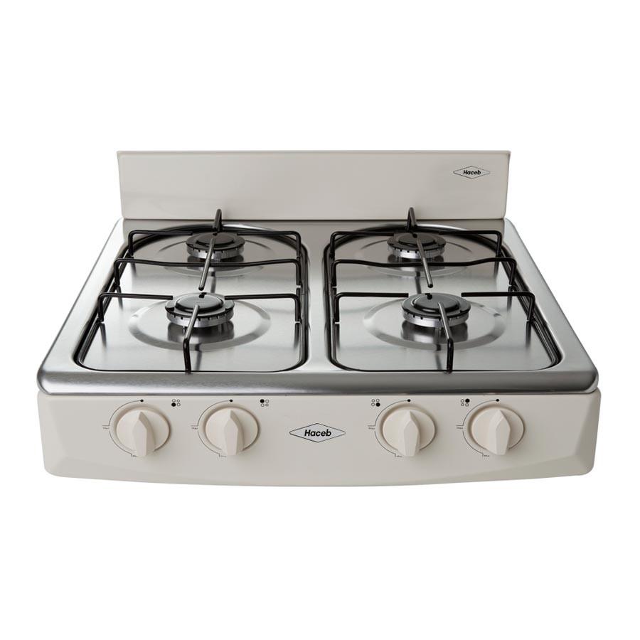 Estufa de mesa haceb arezzo t gas se al alkosto tienda online for Estufas de cocina de gas