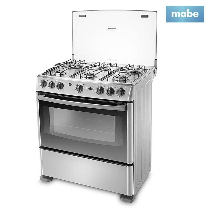 Estufa mabe 30 horno emc30cgx 4 alkosto tienda online for Estufa pellets con horno