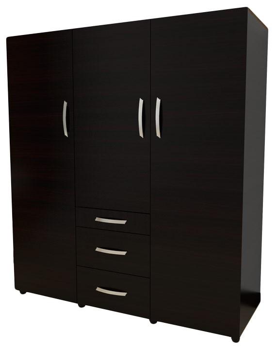 Closet familiar maderkit puerta plegable ref 00178clwr for Armar closet de madera