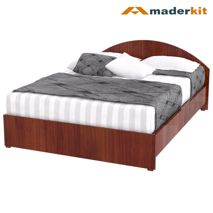 Cama doble maderkit cedro cresent 00772 ca c r alkosto for Mueble cama doble