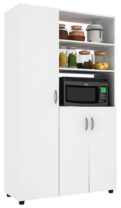 Mueble auxiliar cocina practimac pm2000874 nevado - Muebles auxiliares de cocina baratos ...