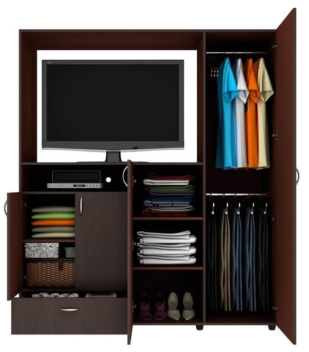 Armario tv practimac malta pm3400831 wengue alkosto tienda - Como hacer puertas de armario ...