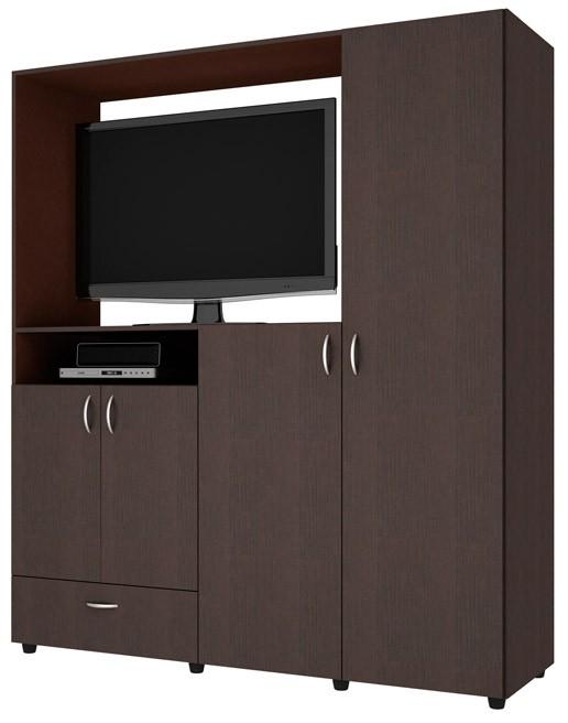 Armario tv practimac malta pm3400831 wengue alkosto tienda for El mueble armarios