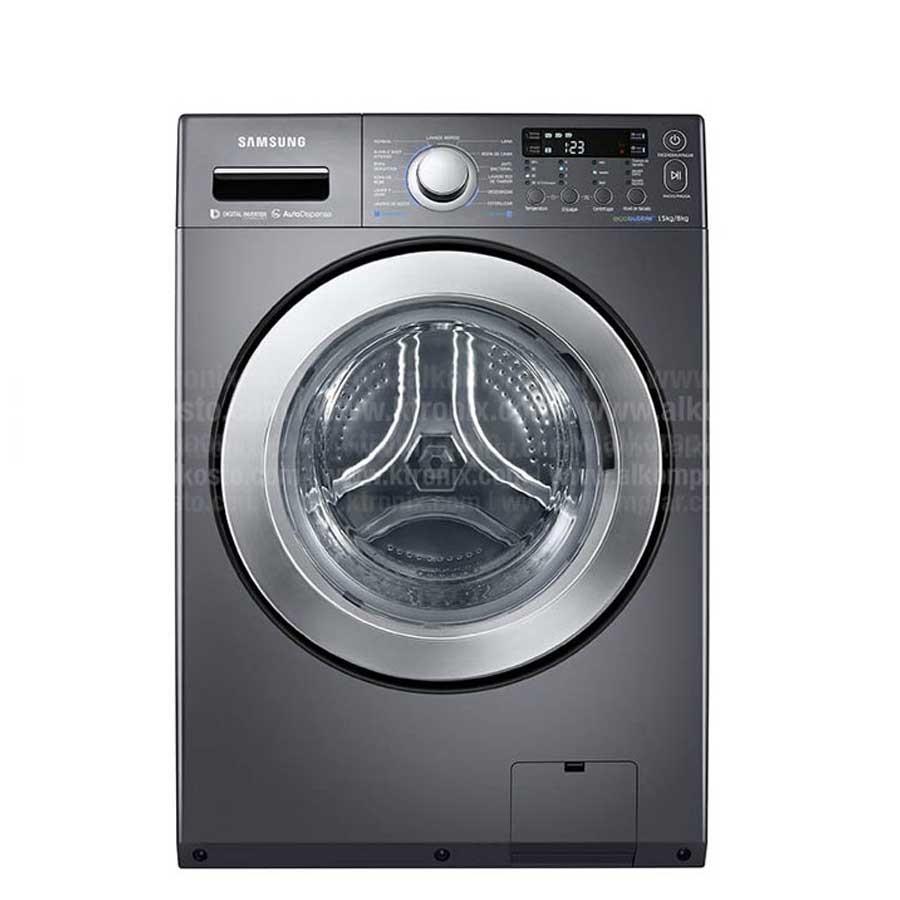 Lavadora secadora samsung 15kg wd15f5k5asg alkosto - Fotos de lavadoras ...