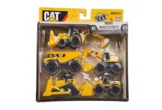 CATERPILLAR Set Mini Máquinas de Construcción