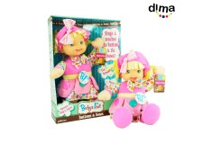 Muñeca buttons and bows DIMA 69D011