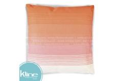 Cojín K-LINE Rayas Naranja 45x45 cm