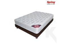 KOMBO: Colchón de Resorte SPRING Emotion C-3 Extradoble + Base Cama Salim