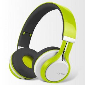 Diadema MARVO OnEar Inalámbrica Bluetooth Verde